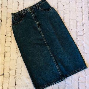 Vintage Jordache Jean Skirt